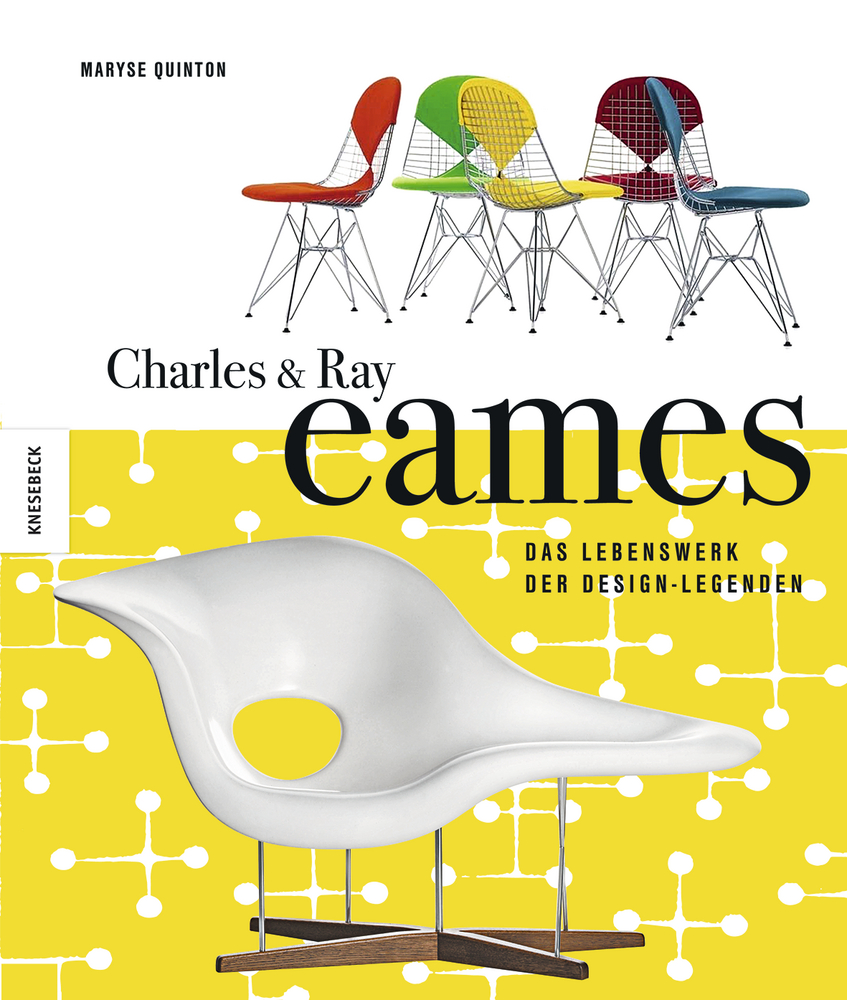 charles ray eames das lebenswerk der design legenden knesebeck verlag. Black Bedroom Furniture Sets. Home Design Ideas