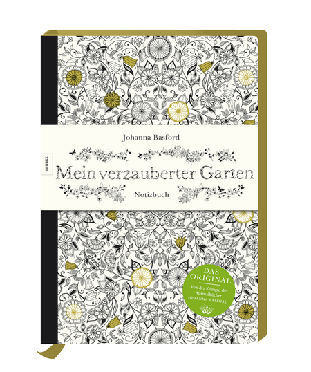 mein verzauberter garten notizbuch knesebeck verlag. Black Bedroom Furniture Sets. Home Design Ideas