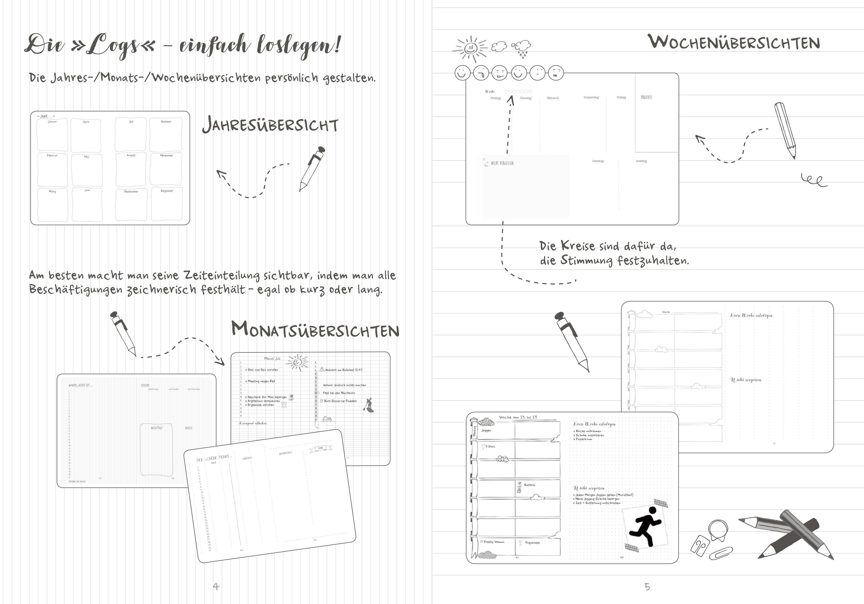 My Bullet Notes: Organisieren, planen und gestalten – Mehr als ein ...